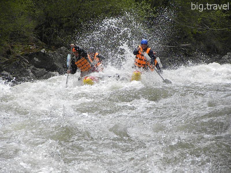 Как избежать травм в водном походе