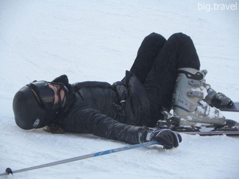 Как предупредить травматизм коленей при катании на горных лыжах?
