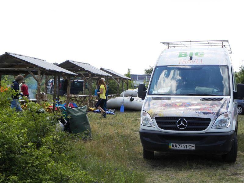 Рафтинг-лагерь Мигея Южный Буг