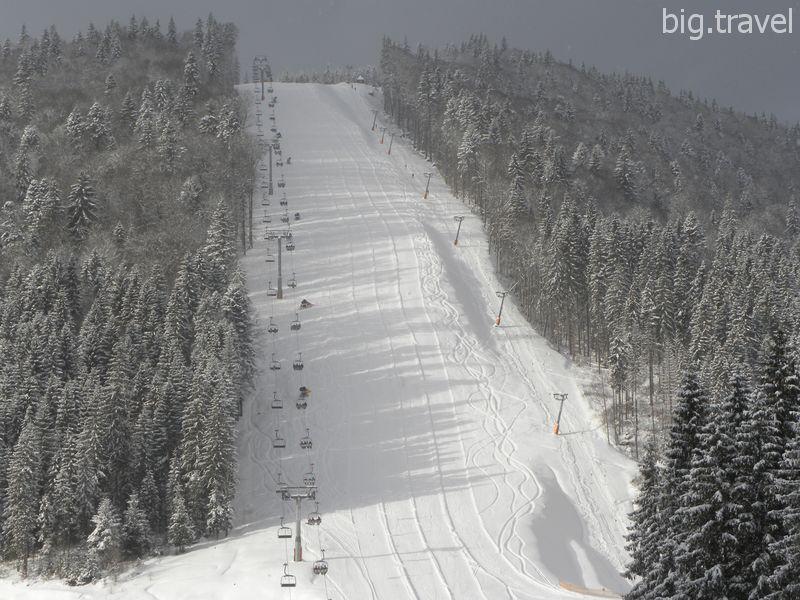 Разновидности снега для катания на горных лыжах
