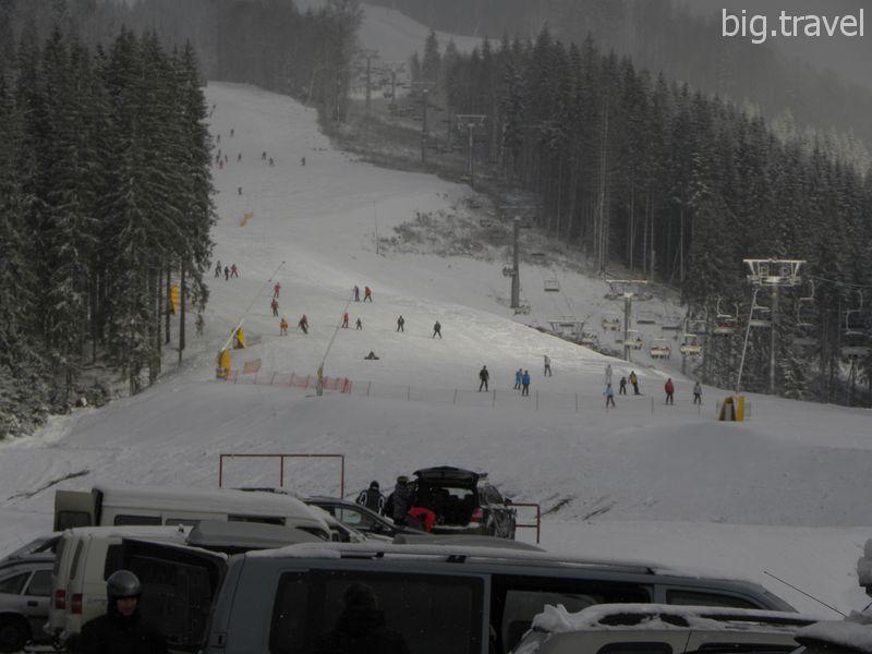 Стили катаний на горных лыжах