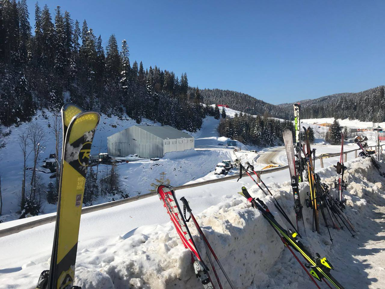 Снаряжение для горнолыжного отдыха